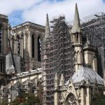 The Notre Dame Cathedral is undergoing repairs in Paris, France, Aug. 16, 2019. The Notre Dame Cathedral in central Paris caught fire on April 15 this year. Photo by Xinhua/Gao Jing/Newscom/ABACAPRESS.COM  Notre Dame de Paris Notre-Dame de Paris (monument)  | 695897_003 Paris France